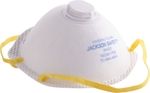 Abdos U20418 White Regular N95 Particulate Respirator With Exhalation