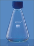 Borosil Conical With Screw Cap Flasks Capacity 100ml 5021016
