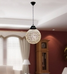 Noble Round Colorful Hanging Light