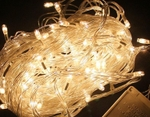 Led Black Wire 40 Mtr White String Decorative Lights