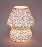 Noble Daisy Mosaic Table Lamp