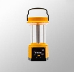 Syska 7W Emergency Light 4500 Mah Power Bank USB FM SD Lantern Yellow