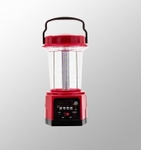 Syska 7W Emergency Light 4500 Mah Power Bank USB FM SD Lantern Red