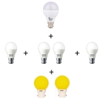 FORUS Combo Pack For 2 BHK Saver LED Bulb
