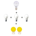 FORUS Combo Pack For 1 BHK Saver LED Bulb