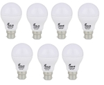 Forus 3 W Cool White Led Bulb Pack Of 7