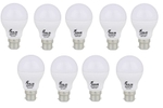 Forus 3 W Cool White Led Bulb Pack Of 9