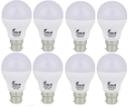 Forus 5 W Cool White Led Bulb Pack Of 8
