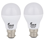 Forus 7 W Cool White Led Bulb Pack Of 2