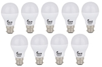 Forus 7 W Cool White Led Bulb Pack Of 9