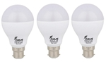 Forus 9 W Cool White Led Bulb Pack Of 3