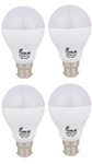 Forus 9 W Cool White Led Bulb Pack Of 4