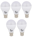 Forus 9 W Cool White Led Bulb Pack Of 5