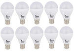 Forus 9 W Cool White Led Bulb Pack Of 10