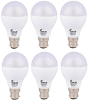 Forus 12 W Cool White Led Bulb Pack Of 6