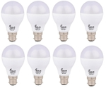 Forus 12 W Cool White Led Bulb Pack Of 8