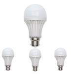 JMD 5W 4Pcs B22 Pin Type Cool White LED Bulb