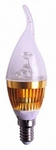 Clair 5W Gold E14 Screw Type LED Candle Bulb