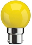 Syska SSK-SKC 0.5W Yellow B22 LED Bulb