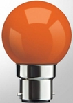 Syska SSK-SKC-1W Orange B22 LED Bulb