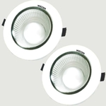 Victor Led RAY3-501 3 Watt LED Downlight Pack Of 2 Warm White