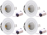 Victor Led 3 Watt LED COB Light Pack Of 4 White