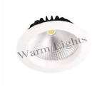 Warm Lights 15 W Round Natural White Cob Down Lights V CDL 2A