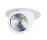 Warm Lights 45 W Round Natural White Cob Down Lights V CDL 8D