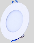 Noble Electricals NE/FPL12RD 12W Neutral White Round LED Down Light