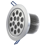 Noble Electricals 18W Blue Silver Aluminium Coated LED Down Light