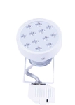 Noble Electricals White Powder Coated 12W Cool White Track LED Spot Light NE/TRK 1*12
