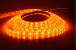 Noble Electricals Flexible LED Strip Lights Amber (9.6 W) Length 5m - IP 65