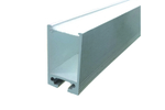 Noble Electricals Elite Deep Aluminium Profiles For LED Rigid Bar (Length - 1m)