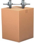 Maruti 12 X 12 X 12 Inch 5 Ply Heavy Duty Box (1000 Pieces)