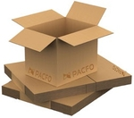 Pacfo 4 X 4 X 4 Inch 3ply Corrugated Box Brown Colour