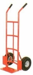 AKAR 200 Kg L Handle Hand Truck With Wheel Guard And Pneumatic Wheel