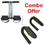 Dee Mark Tummy Trimmer With Pushup Bar Combo Pack D-TUMMY+PUSHUP