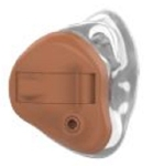 Starkey Hearing Aid ITC 4/4 Channel 0-110 DB E Series 3 (Light Brown)