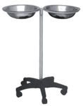 Anand Systems MS Double Wash Basin Stand With SS Basin ASI-179