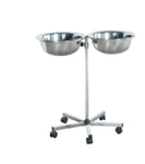 SHC Stainless Steel Double Basin Hand Wash Basin Stand AKE 050