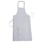 Sanctum 3XL White Polyester And Cotton Blend Apron SWM 5004