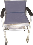 Vissco Invalid Adjustable Commode With Back Rest/ Fixed 0914