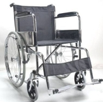 Medfurnish Invalid Folding Wheelchair With Spoke Wheel MDF 598