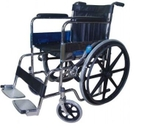 Medfurnish Invalid Folding Wheelchair With Mag Wheel MDF 599