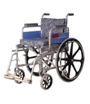 Vissco 110 Kg Capacity Folding Wheelchair 0938