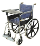 Vissco Invalid Regular Folding Wheelchair With Writing Board 0968