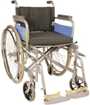 Vissco Invalid Transit With Spoke Wheels Folding Wheelchair 0971