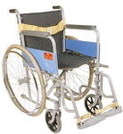 Vissco Invalid Wheelchair Deluxe Folding With Spoke Wheels 0972