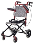 Vissco Invalid Transit Folding Wheelchair 0973