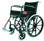 Vissco B Modified Black Magic Folding Wheelchair With Mag Wheels 0983